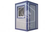 Блок-контейнер ДВП 1500*1500 мм